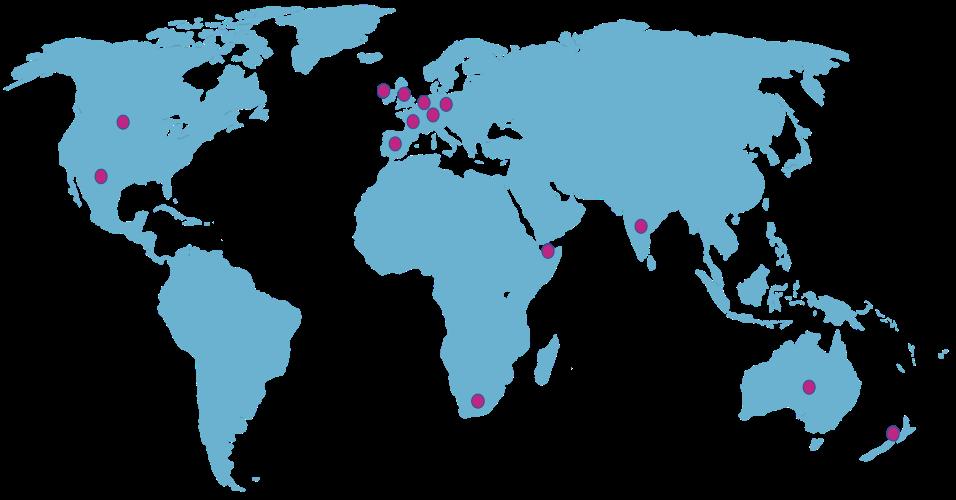 Global Community Map