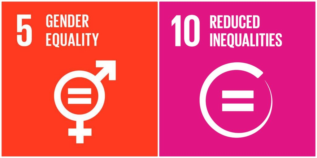Gender equality and reduced inequalities